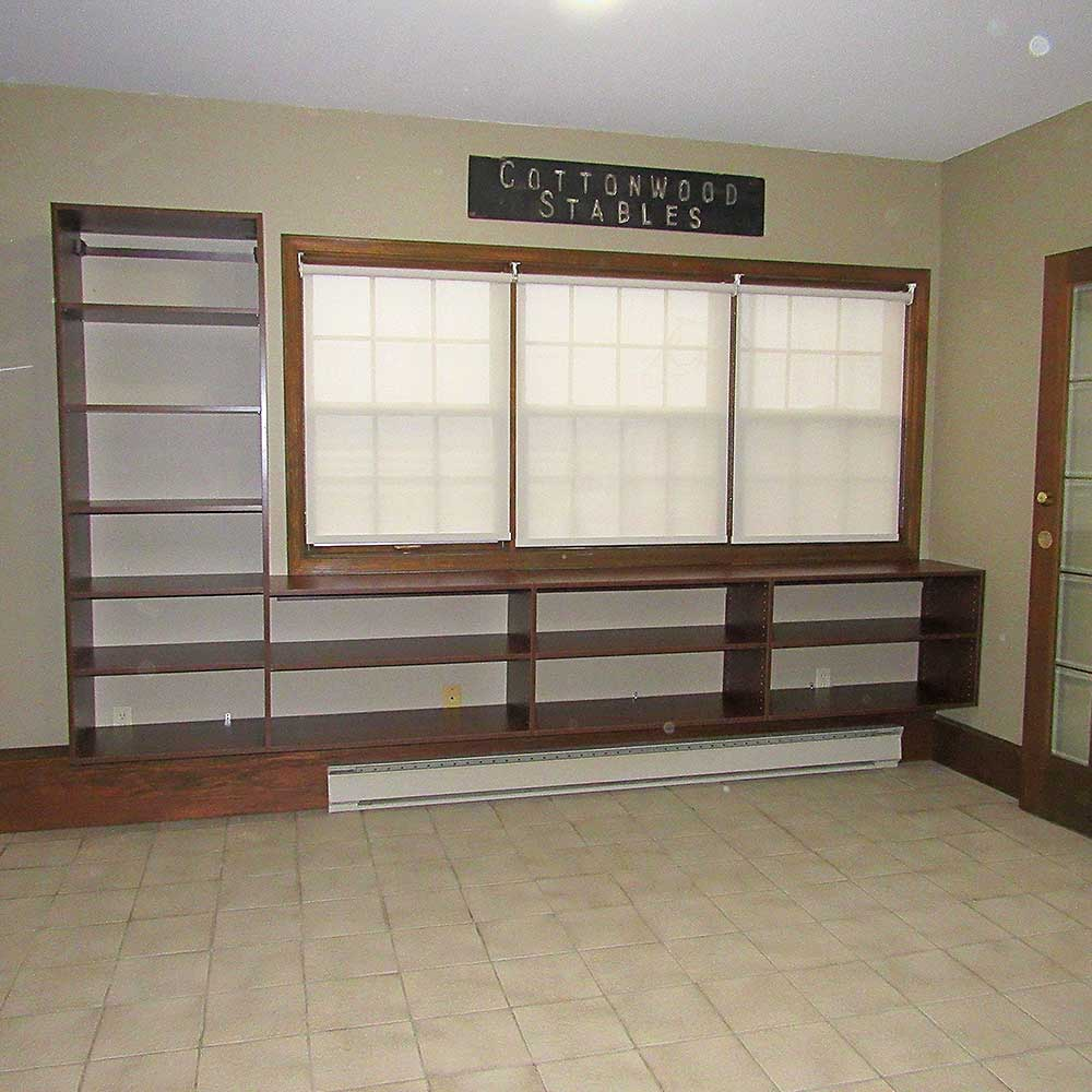 Built In Shelving Units